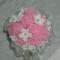 esküvői csokor rózsaszín rózsából