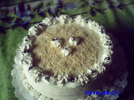 Tejszínes gesztenye torta