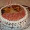 Első, figurás tortám