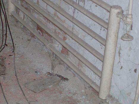 központi fűtés radiátora