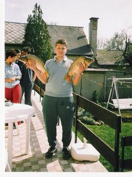 Ekkora halakat fogtam.