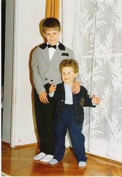 Tamás és Ádám.
