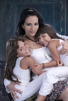Anikó az unokáimmal