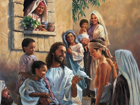 Jesus az Atyáról beszél
