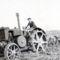 A G35-ös traktor szántás közben. Sostarecz K 1950