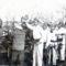 Életképek Császárrétről  M Szentpéteri tűzoltók 1950-es évek