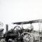 Gőzgép-gőzeke 1945-1950 között .A főgépész: Ábrahám Lajos, Sostarecz Károly