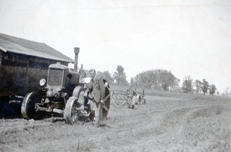 Körmös traktor G35típus 1950 Császárrét