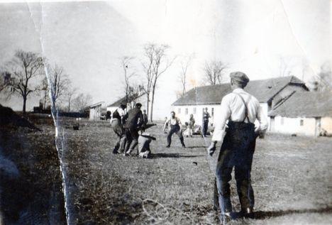 Sportélet 1945-50 között Császárréten