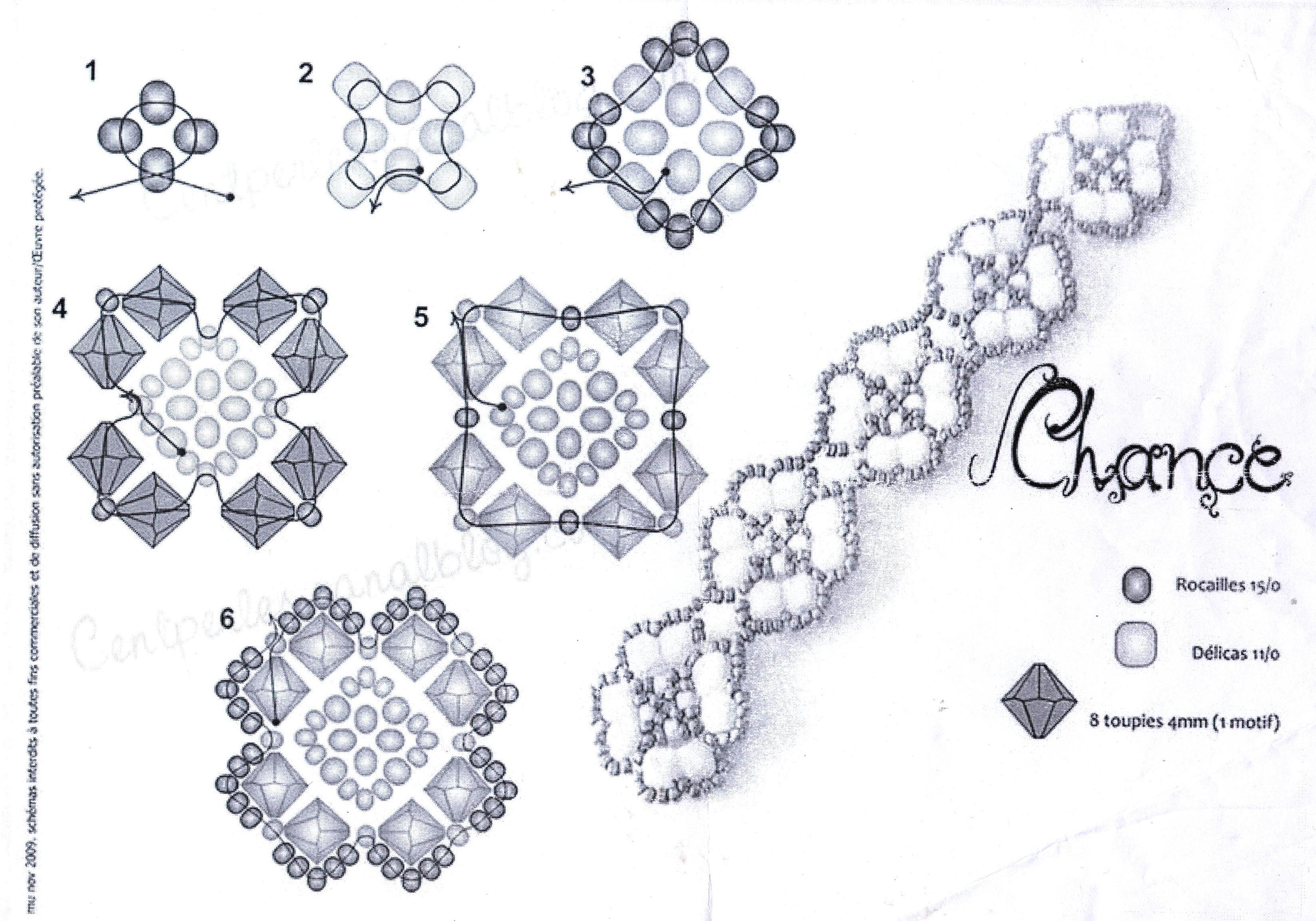 Бисероплетение схемы браслетов для начинающих - Делаем фенечки своими руками.