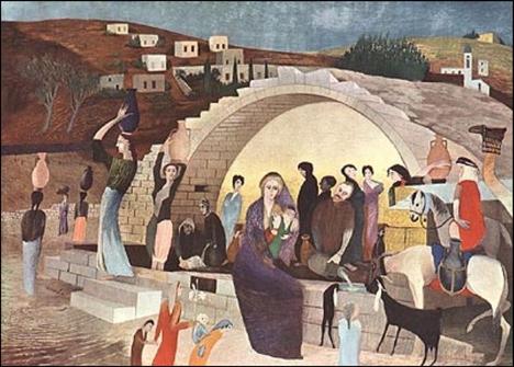 Mária kútja Názáretben