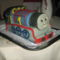 Thomas a gőzmozdony  torta