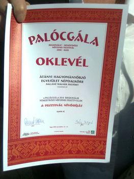 Fesztivál Nívódíját nyertük el, ezen a jeles eseményen! 13