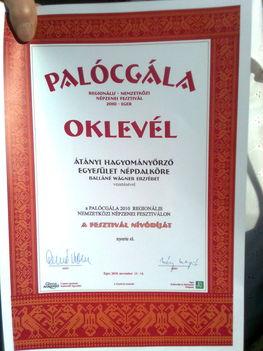 Fesztivál Nívódíját nyertük el, ezen a jeles eseményen! 14