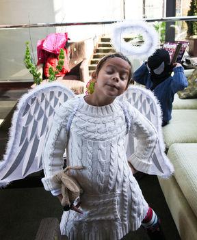Bocs, de az angyal is csak ember..