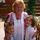 unokáimmal,Anissza és Tibike