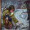 Rőzse gyűjtő lány - Górné Zs Krisztina