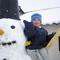 egy kisebb hóember :)