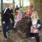 férjemmel és kislányommal az állatkertben