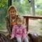 Juci mamival az állatkertben