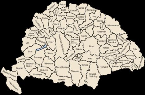 64 vármegye